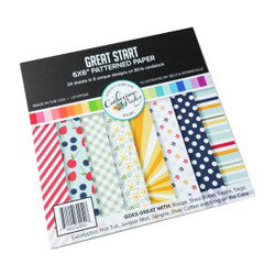 Great Start, Catherine Pooler Patterned Paper -