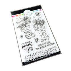 Bloomin' Wellies, Catherine Pooler Clear Stamps -