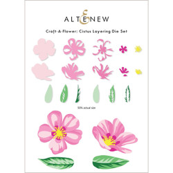 Craft-A-Flower: Cistus, Altenew Dies -