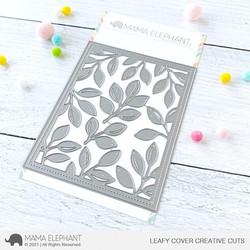 Leafy Cover, Mama Elephant Creative Cuts -
