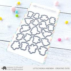 Little Koala Agenda, Mama Elephant Creative Cuts -