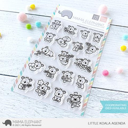 Little Koala Agenda, Mama Elephant Clear Stamps -