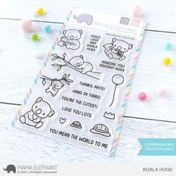 Koala Hugs, Mama Elephant Clear Stamps -
