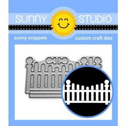 Scalloped Fence, Sunny Studio Dies -