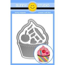 Cupcake Shape, Sunny Studio Dies -