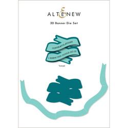 3D Banner, Altenew Dies -