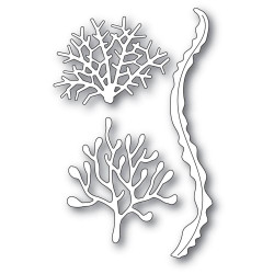 Coral and Kelp Ribbon, Memory Box Dies -
