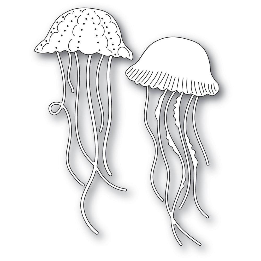 Graceful Jellyfish, Memory Box Dies -