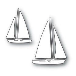 Marina Sailboats, Memory Box Dies -