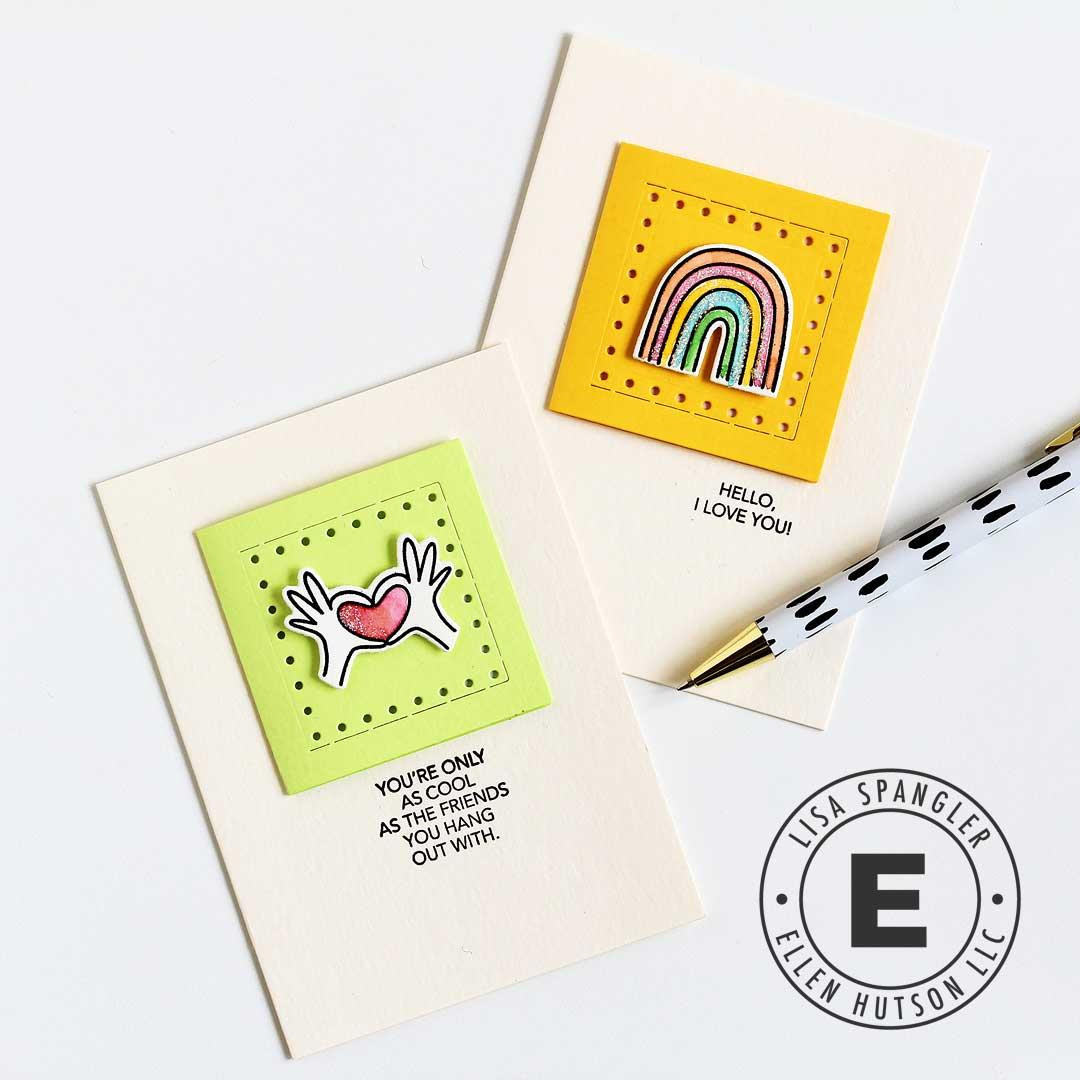 Love Notes by Julie Ebersole, Essentials By Ellen Clear Stamps -
