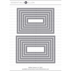 Essential 4-Bar Rectangles, Essentials by Ellen Designer Dies -