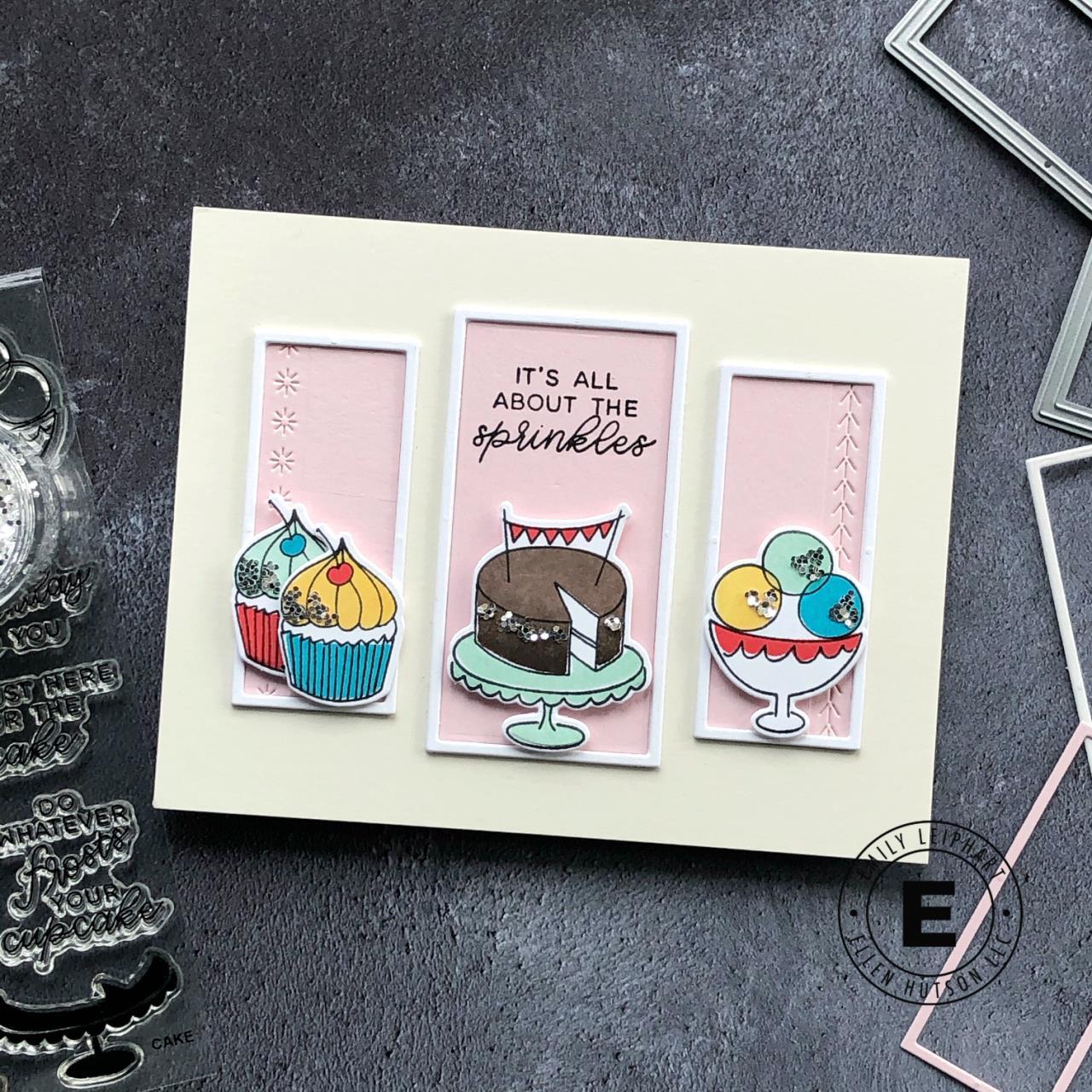 Cake by Julie Ebersole, Essentials by Ellen Designer Dies -