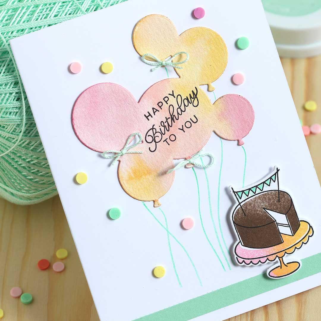 Freeform Balloons by Julie Ebersole, Essentials by Ellen Designer Dies -