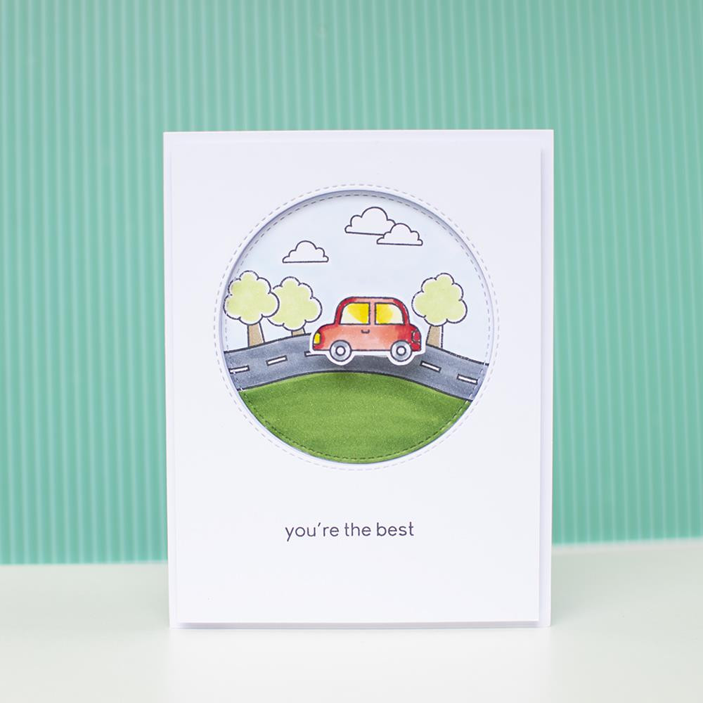 Home Sweet Home, Heffy Doodle Clear Stamps -