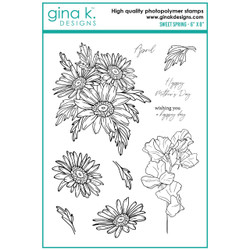 Sweet Spring, Gina K Designs Clear Stamps -