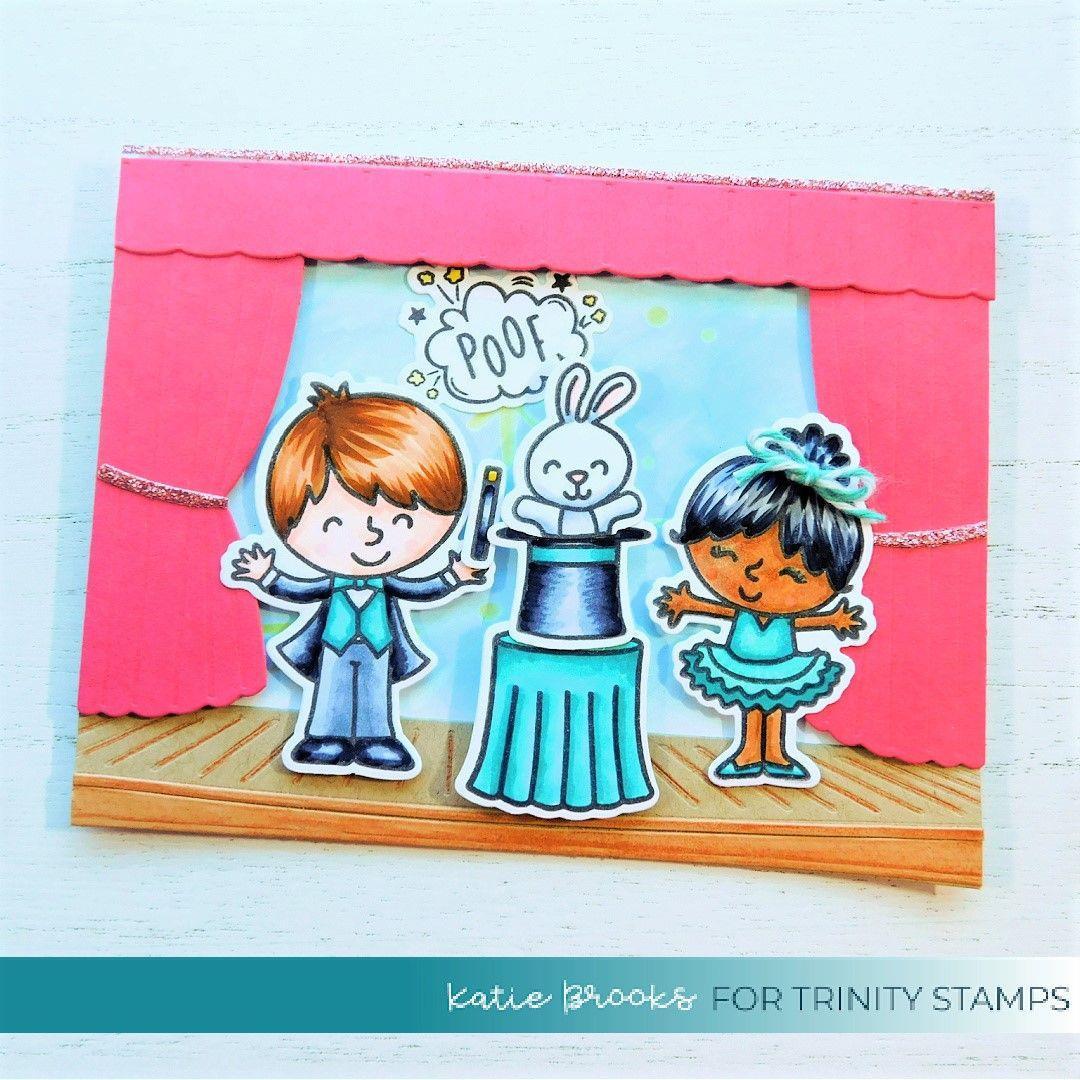 Abracadabra, Trinity Stamps Clear Stamps -