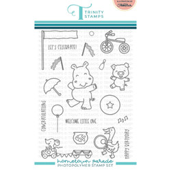 Hometown Parade, Trinity Stamps Clear Stamps -