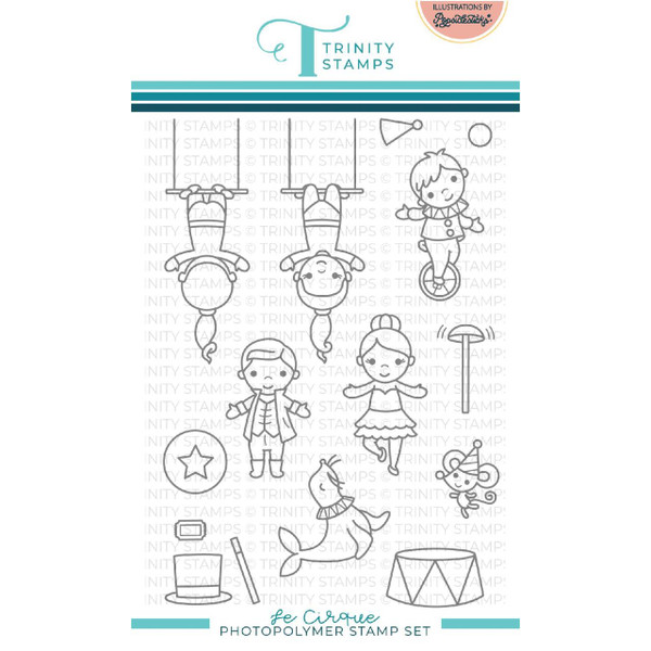 Le Cirque, Trinity Stamps Clear Stamps -