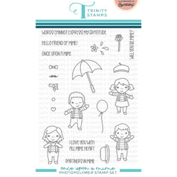 Once Upon a Mime, Trinity Stamps Clear Stamps -
