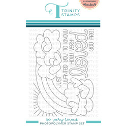 So Very Loved, Trinity Stamps Clear Stamps -