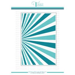 Good Morning Sunshine Layering, Trinity Stamps Stencil -