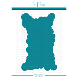 Puffy Cloud, Trinity Stamps Stencil -