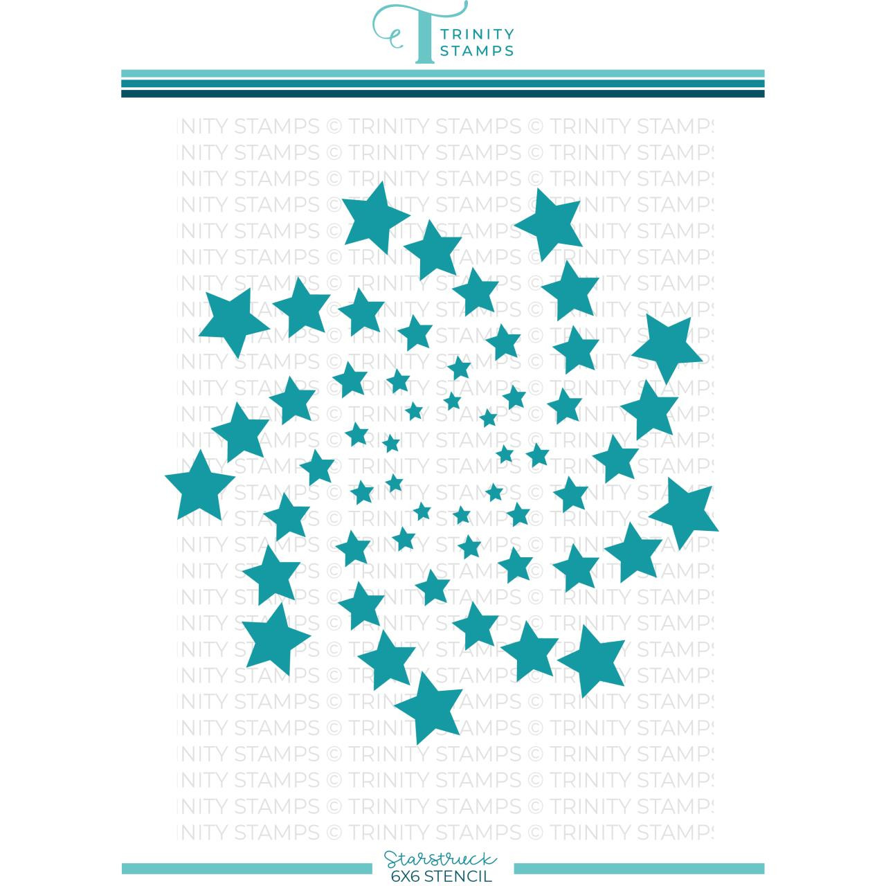 Starstruck, Trinity Stamps Stencil -