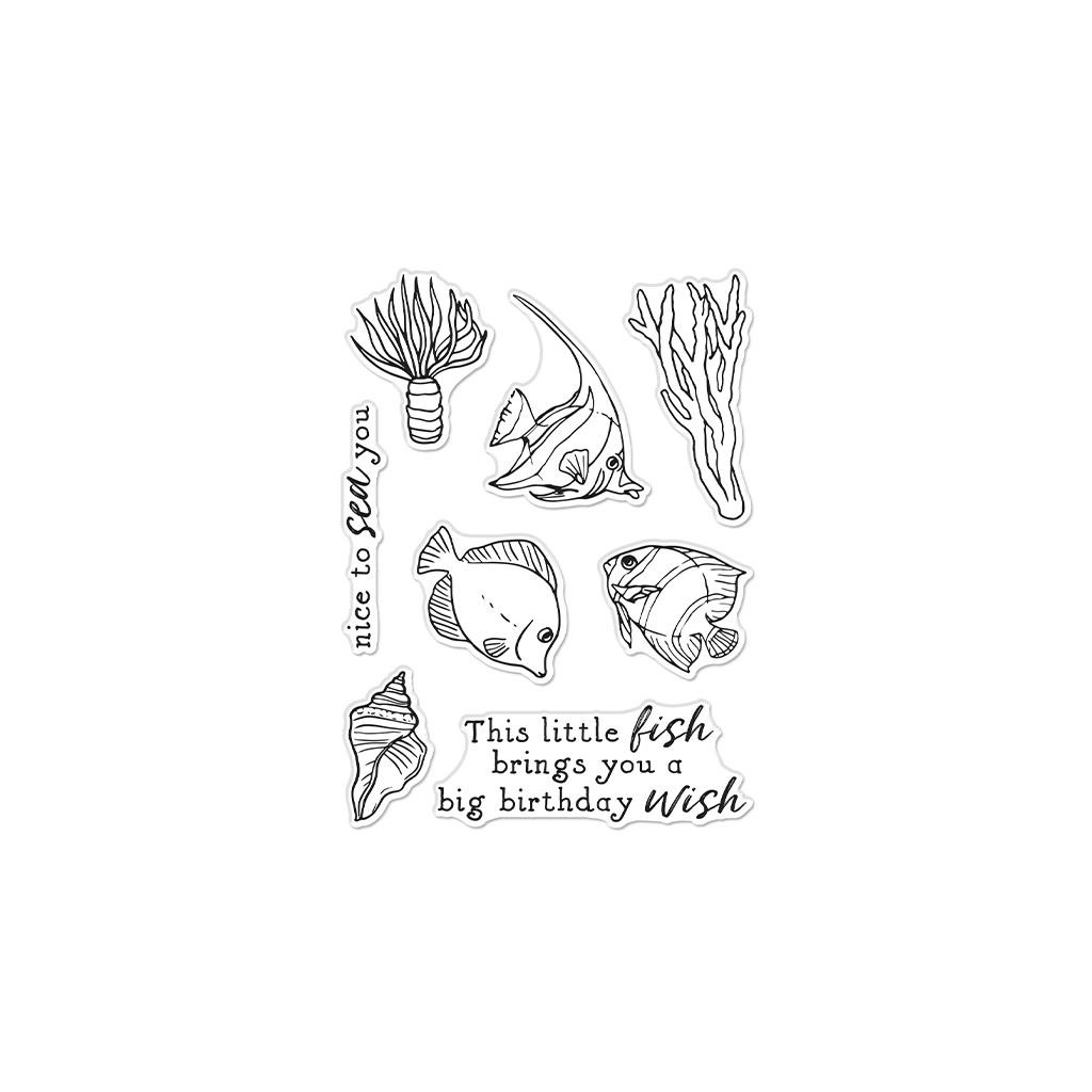 Sea You, Hero Arts Clear Stamps -