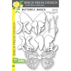 Butterfly Basics, Birch Press Design Dies -