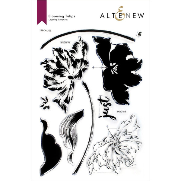 Blooming Tulips, Altenew Clear Stamps -
