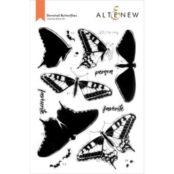Dovetail Butterflies, Altenew Clear Stamps -