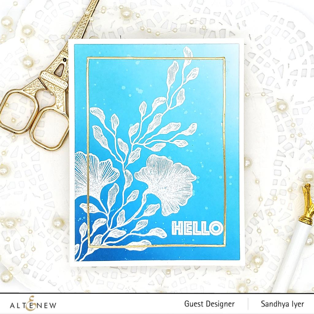 Enchanting Beauty, Altenew Clear Stamps -