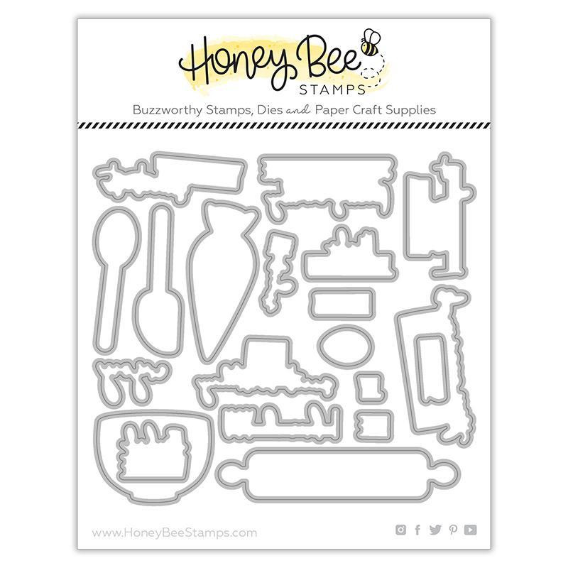 Baked With Love, Honey Cuts Dies -