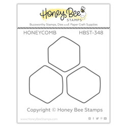 Honeycomb, Honey Bee Clear Stamps -