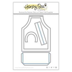 Apron A2 Card, Honey Cuts Dies -