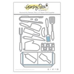 Apron: BBQ Add-On, Honey Cuts Dies -