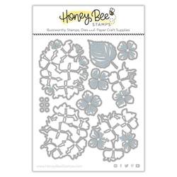 Lovely Layers: Hydrangea, Honey Cuts Dies -