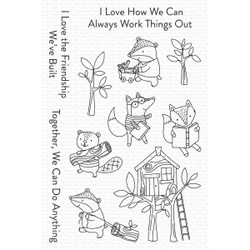 Let's Work Together, My Favorite Things Clear Stamps -