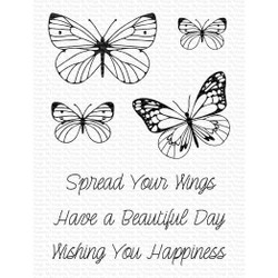 Spread Your Wings, My Favorite Things Clear Stamps -