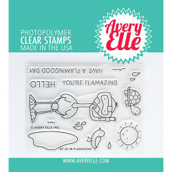 Flamazing, Avery Elle Clear Stamps -