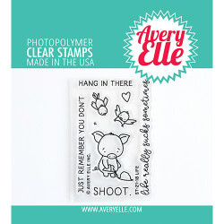 Life, Avery Elle Clear Stamps -