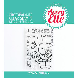 Maple Syrup, Avery Elle Clear Stamps -