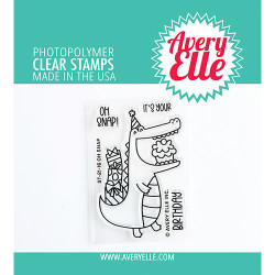 Oh Snap, Avery Elle Clear Stamps -