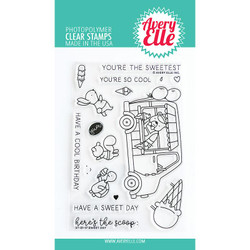 Sweet Day, Avery Elle Clear Stamps -