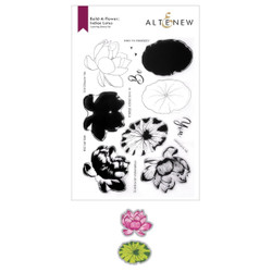 Build-A-Flower: Indian Lotus, Altenew Stamp & Die -