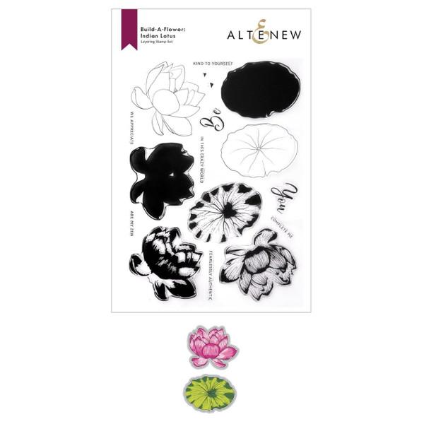 Build-A-Flower: Indian Lotus, Altenew Stamp & Die -