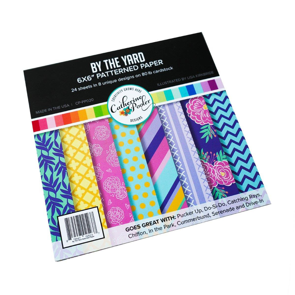 By the Yard, Catherine Pooler Patterned Paper -