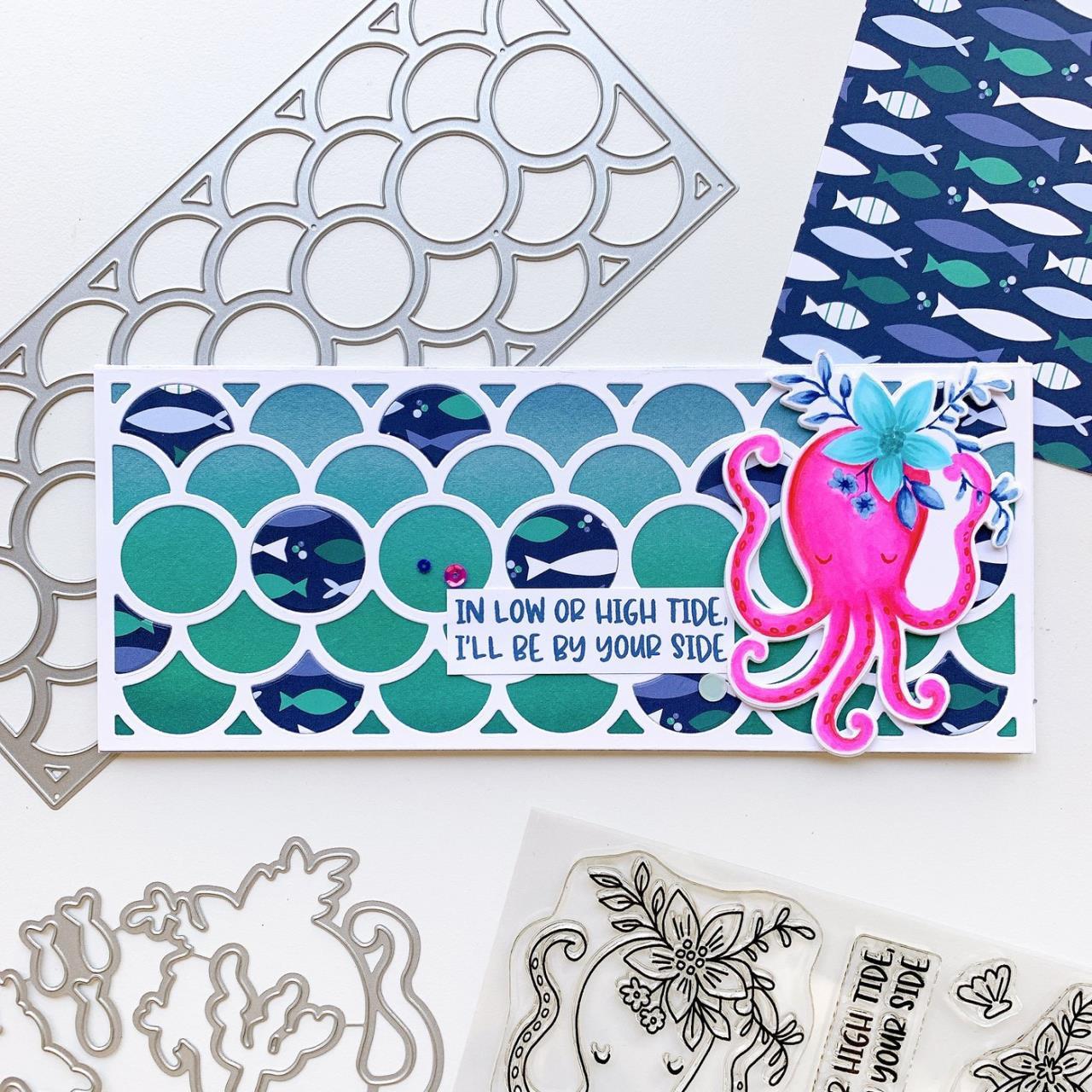 Seaside, Catherine Pooler Patterned Paper -