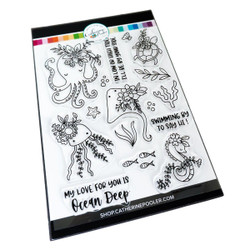 Ocean Chums, Catherine Pooler Clear Stamps -