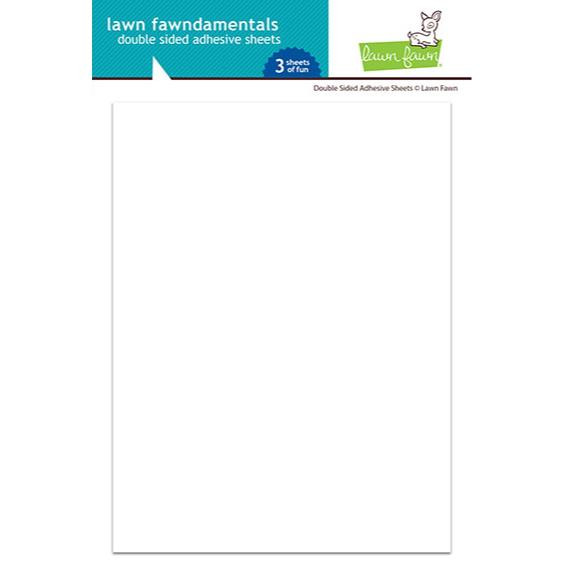 Double Sided Adhesive Sheets, Lawn Fawn -